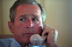 Bush làm những gì khi nhận hung tin 11/9?