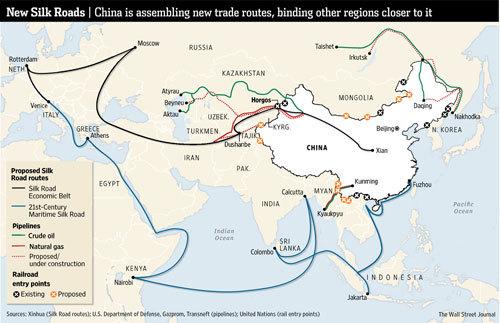 con đường tơ lụa, Trung Quốc, chủ nghĩa bành trướng, vốn Trung Quốc, dự án Trung Quốc, hàng hóa Trung Quốc