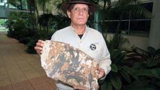 Tìm thấy mảnh vỡ bị đốt cháy nghi của MH370