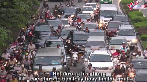 giao thông Hà Nội hỗn loạn, tin giao thông 24h, phân làn giao thông, hà nội, giao thông hà nội