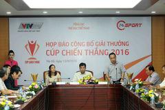 Cúp Chiến thắng 2016: Hoàng Xuân Vinh được nhận 3 đề cử