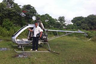 Máy bay tự chế thứ hai của 'hai lúa' Bình Dương đã cất cánh