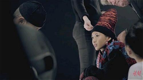 Suboi được mời làm người mẫu quảng cáo cho Kenzo x H&M