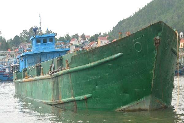 xả thải, chất thải, đổ chất thải ra biển, khu kinh tế nghi sơn