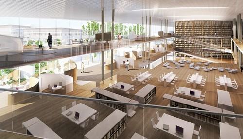 dự án trường đại học xanh, kiến trúc xanh, tạp chí kiến trúc Archdaily