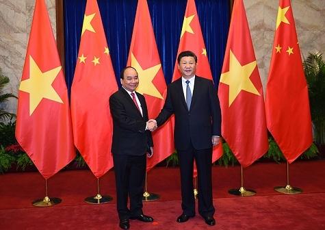 Thủ tướng Nguyễn Xuân Phúc, Tập Cận Bình, Thủ tướng thăm Trung Quốc