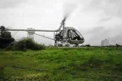 Xem trực thăng tự chế 500 triệu của ông chủ gara cất cánh