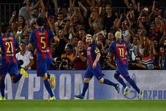Video bàn thắng Barca 7-0 Celtic