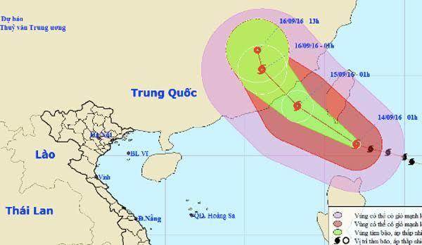 Dự báo thời tiết, tin thời tiết, thời tiết trong ngày, siêu bão Meranti, lũ lụt, thời tiết miền Bắc, thời tiết Trung thu