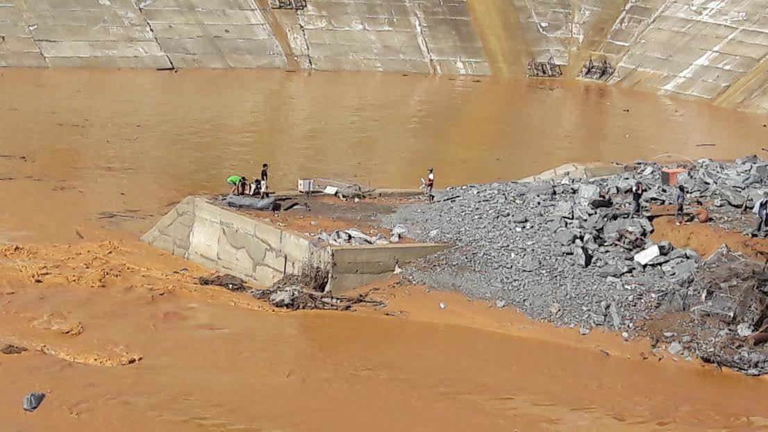 thủy điện Sông Bung 2, Tổng công ty phát điện 2, vỡ ống thủy điện
