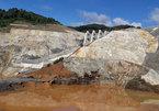 Hiện trường tan hoang vụ vỡ ống thủy điện Sông Bung 2