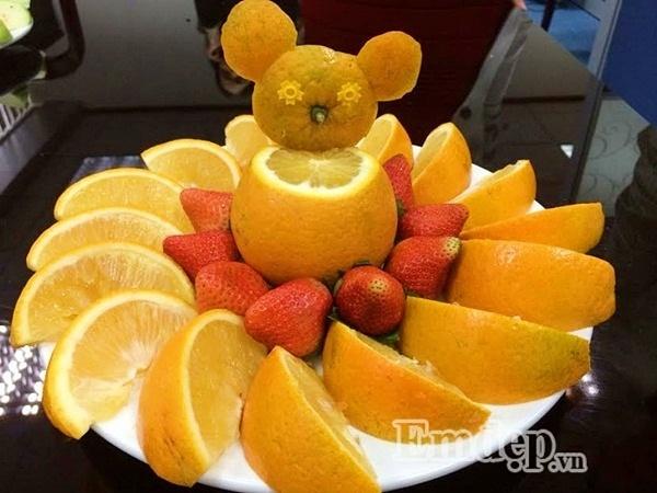 tỉa hoa quả, con vật, Trung thu