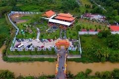 Toàn cảnh nhà thờ Tổ hoành tráng của Hoài Linh