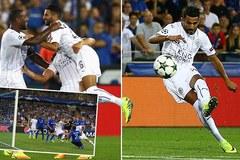 Leicester ra mắt Champions League hoành tráng
