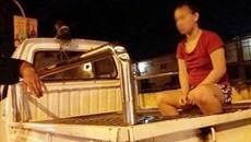 Cô gái mang bầu bị bạn trai đánh dã man giữa phố Hà Nội