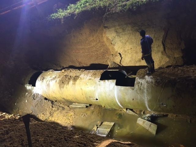 vỡ ống nước sông Đà lần thứ 19, Viwasupco, dự án đường ống nước sông Đà số 2