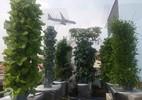 Vườn rau 10m² trên sân thượng thu hàng tạ rau mỗi tháng của ông bố trẻ trồng cho vợ và con gái