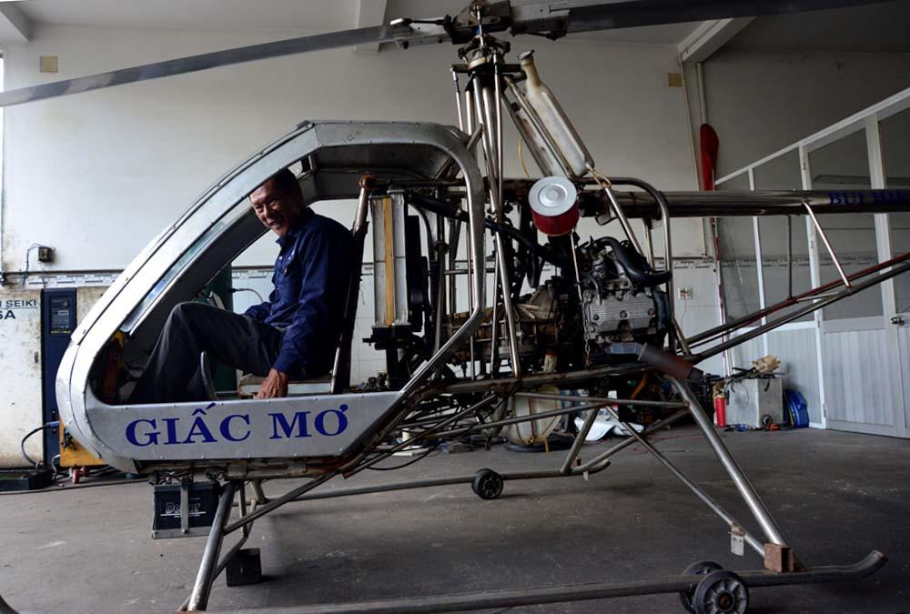 máy bay, máy bay trực thăng, tự chế, kỹ sư, phi công