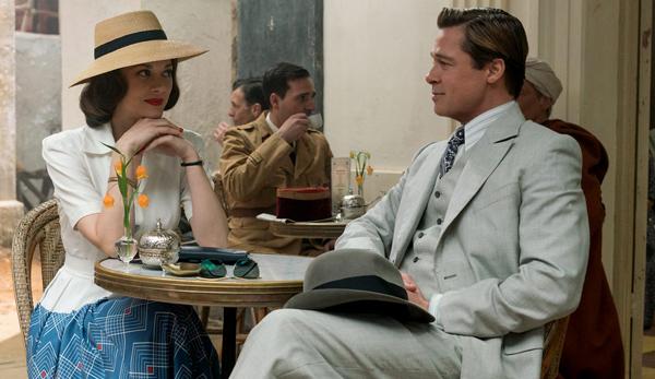 Hé lộ những cảnh quay nóng bỏng giữa Brad Pitt và Marion Cotillard
