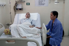 Thanh niên lực lưỡng bị mất dần nội tạng