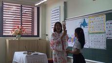 Thí điểm học tiếng Nhật ở 5 trường tiểu học trong toàn quốc