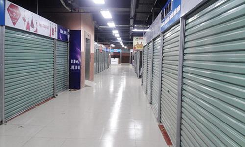 trung tâm thương mại, chợ Trung Hòa, Trung tâm thương mại chợ Hàng Da