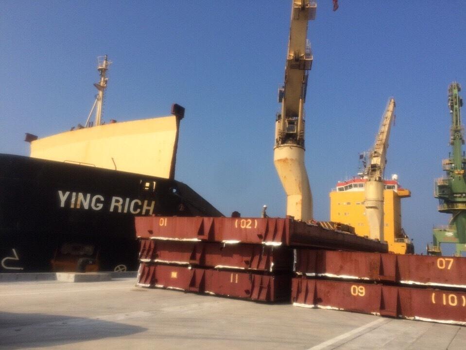 168 tấn bùn bô xít trên tàu Formosa nhập về