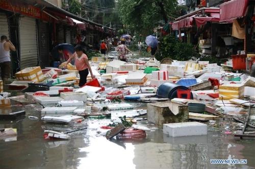Trung Quốc thiệt hại nặng vì siêu bão