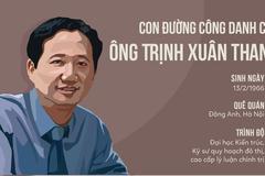 20 năm thăng tiến của ông Trịnh Xuân Thanh