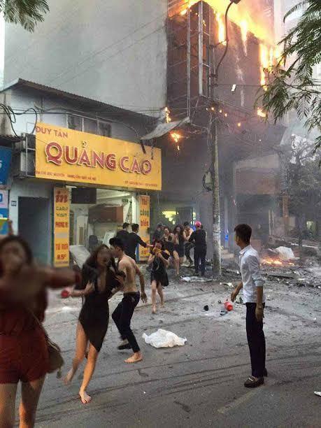 cháy, cháy quán karaoke