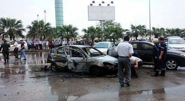Người đàn ông tử vong trong xe ở Nội Bài do ngạt khí
