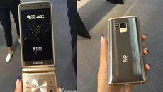 Lộ ảnh mới về smartphone nắp gập sắp ra mắt của Samsung