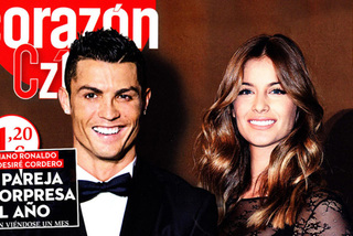 Ronaldo giăng lưới tình Hoa hậu hoàn vũ Tây Ban Nha