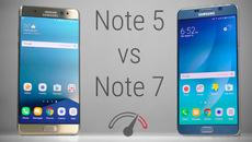Galaxy Note 7 từng bán chạy vượt xa Note 5
