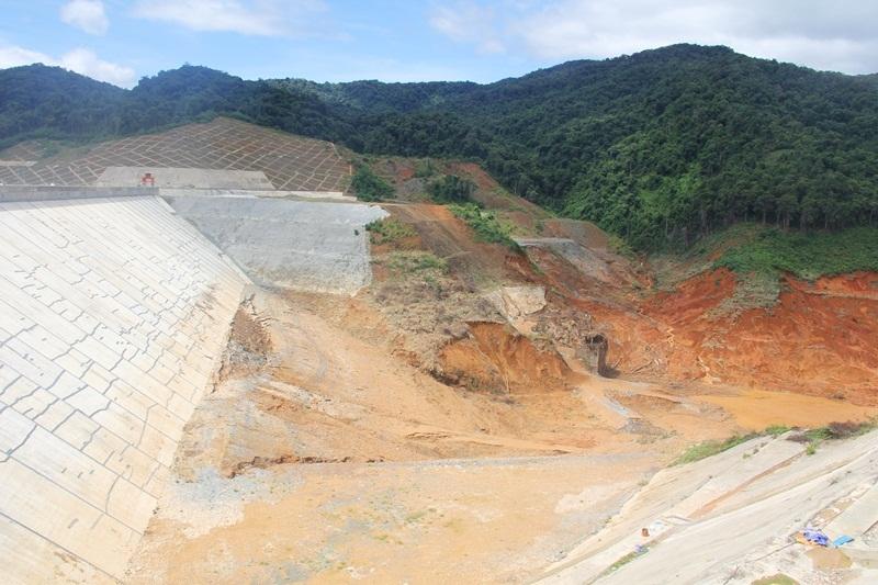 vỡ ống thủy điện sông Bung 2, tích nước thủy điện, Quảng Nam