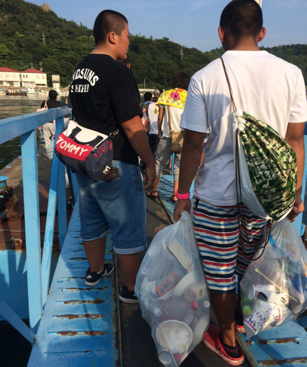 nước nhật, nhật bản, rác thải công cộng, phân loại rác,