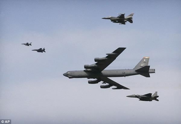 Mỹ, Hàn tập trận xóa sổ cơ sở hạt nhân Triều Tiên