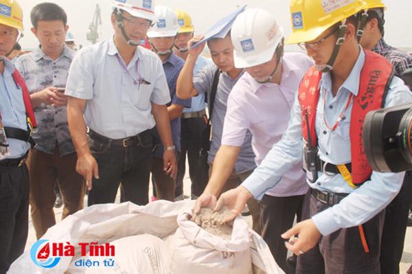 Hải quan Vũng Áng phản hồi về 168 tấn hàng của Formosa