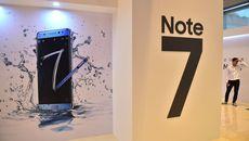 Galaxy Note 7 được cập nhật phần mềm chống cháy nổ