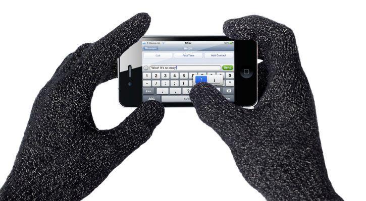 iPhone 7, mùa đông, găng tay,