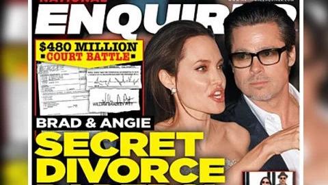 Những hình ảnh đẹp của Angelia Jolie và Brad Pitt