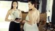 Dàn Hoa hậu, Á hậu gợi cảm với yếm lụa của Diệp Anh VTV