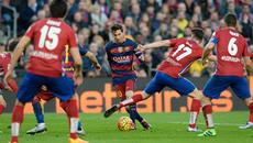 Kèo Barca vs Atletico: Simeone bất lực trước MSN