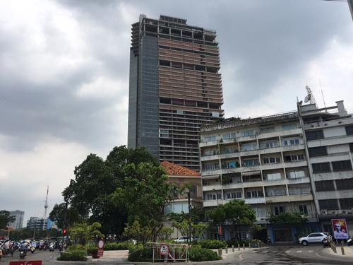 chung cư đắp chiếu, Dự án Petro Vietnam Landmark, Dự án Cao Ốc Xanh, chung cư Gia Phú