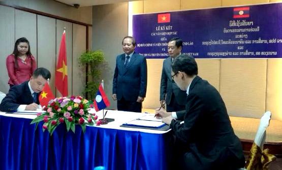 Việt Nam hỗ trợ Lào về chứng thực chữ ký số