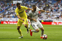 Video bàn thắng Real Madrid 1-1 Villarreal