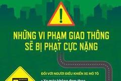 Những vi phạm giao thông bị phạt cực nặng theo Nghị định 46