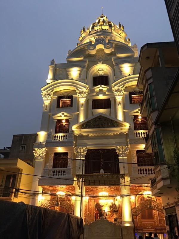 dinh thự, triệu đô, đại gia Việt, lâu đài, biệt thự, biệt phủ, tòa nhà, nhà giàu, Tổng hành sơn, lâu đài trắng
