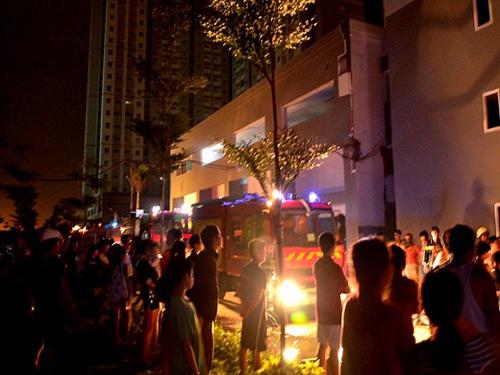 nhà ở xã hội, phòng cháy chữa cháy chung cư, cháy chung cư, chung cư HQC Plaza