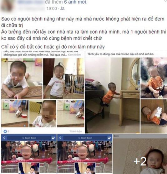 facebook, mẹ Việt, ảnh con, luật pháp